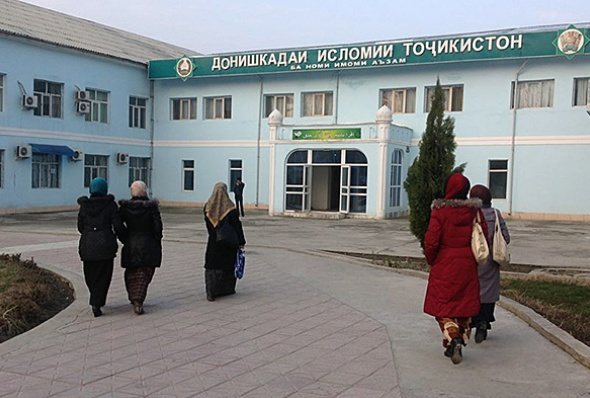 tajik mosque women 3 - h bakhtiyor 1