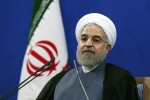 """Iran's President Hassan Rouhani gives a press conference on the second anniversary of his election, in Tehran, Iran, Saturday, June 13, 2015. Rouhani said a final nuclear deal is """"within reach"""" as Iran and world powers face a June 30 deadline for an agreement. Rouhani said Iran will allow inspections of its nuclear facilities but vowed that the Islamic republic won't allow its state """"secrets"""" to be jeopardized under the cover of international inspections. (AP Photo/Ebrahim Noroozi)"""