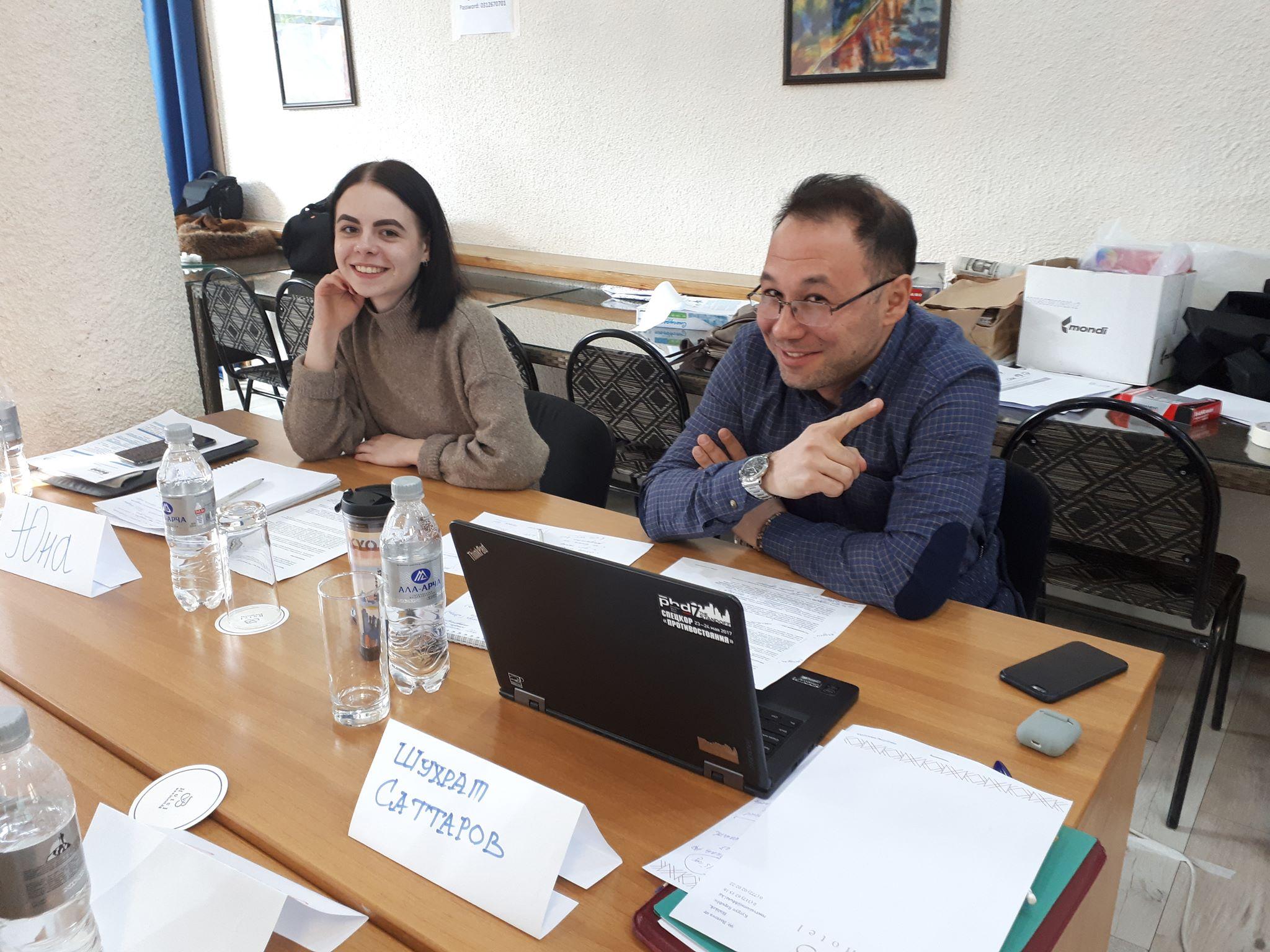 Журналисты из Казахстана и Узбекистана