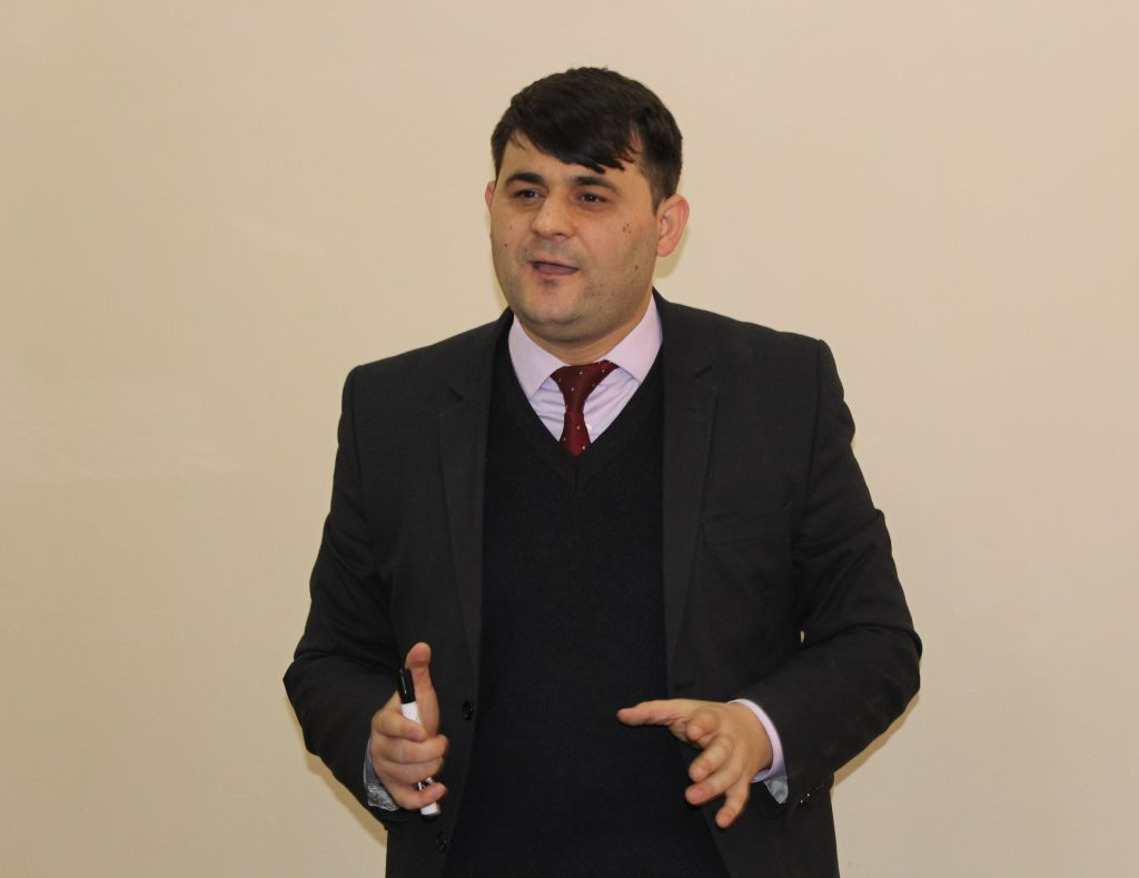 Deputy Director of the Centre for Islamic Studies under the President of the Republic of Tajikistan Rustam Azizi. Photo: cabar.asia