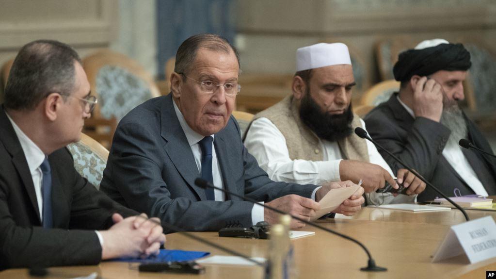 Переговоры с талибами в Москве: фото Reuters