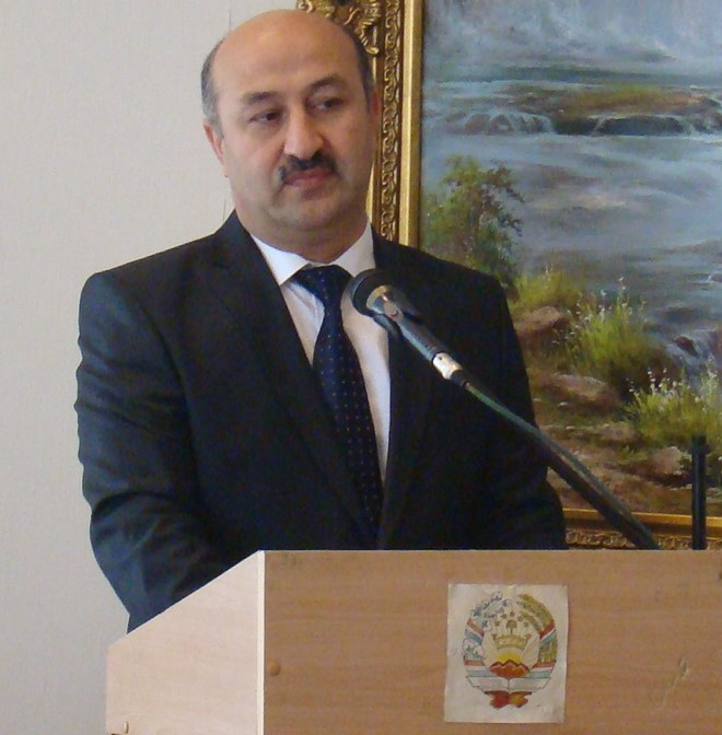 Sulaymon Davlatzoda, chairman of the Committee of Religion, Regulation of Traditions, Celebrations and Ceremonies under the Government of the Republic of Tajikistan. Photo: CABAR.asia