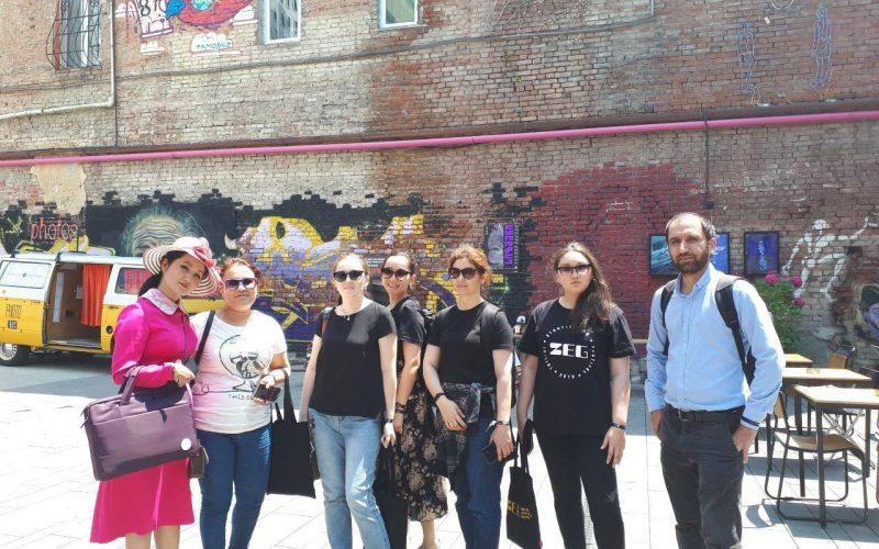 Центральноазиатские журналисты на ZEG – Tbilisi storytelling festival