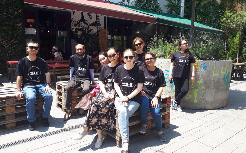 Во время участия в Tbilisi storytelling festival в Fabrika