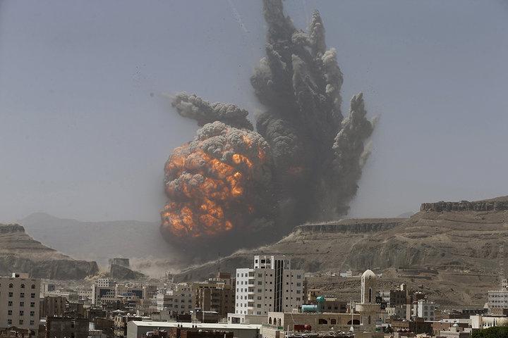 Бомбардировки Йемена. Фото: Рейтер