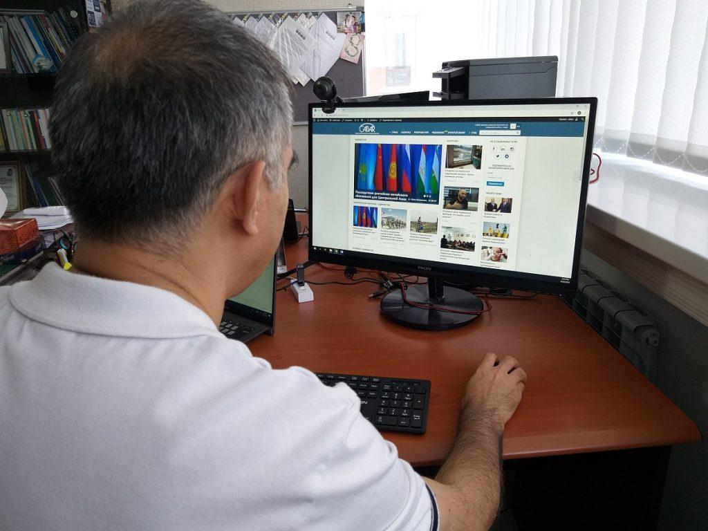 В начале 2010-х Таджикистан был лидером по развитию интернета во всей Центральной Азии. Фото: CABAR.asia