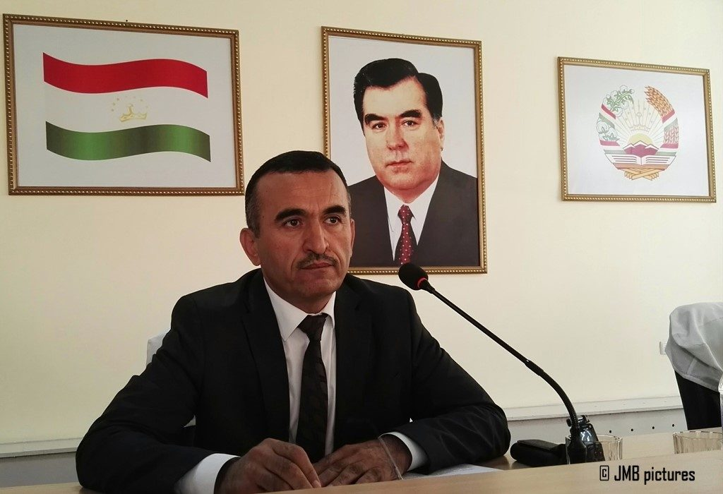 Karim Ibrohimzoda, Head of the Agency for State Financial Control and Combating Corruption in the Sughd region