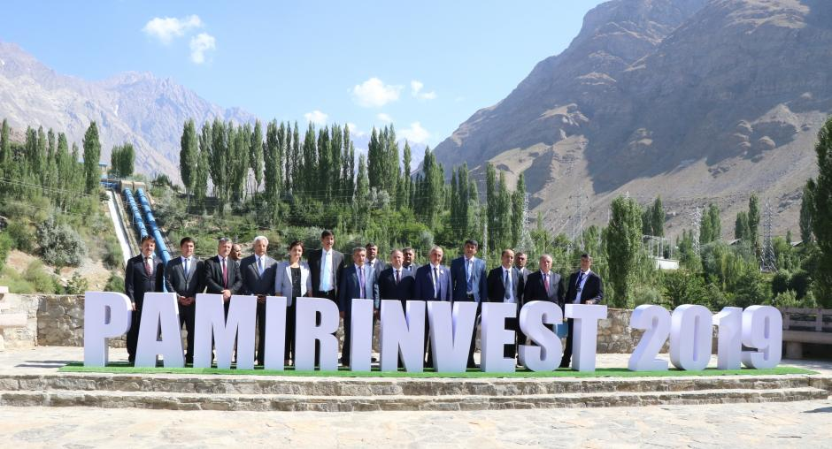 Participants of the Pamir Invest Forum in Khorog, August 6, 2019. Photo: osce.org