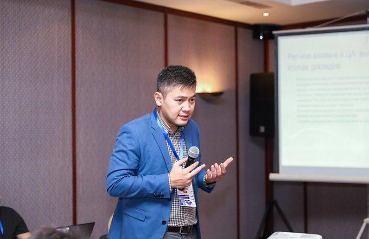 Аналитик из Кыргызстана Айболот Айдосов