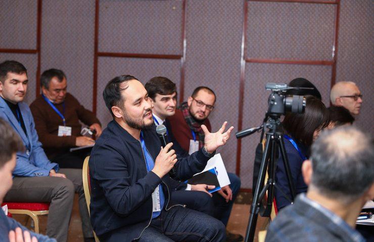 Азим Азимов, медиаэксперт из Кыргызстана