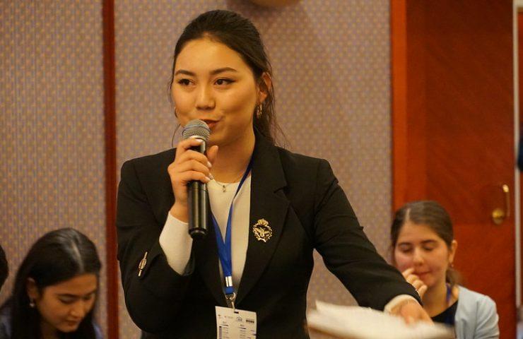 Канзада Зайырбекова, аналитик из Кыргызстана