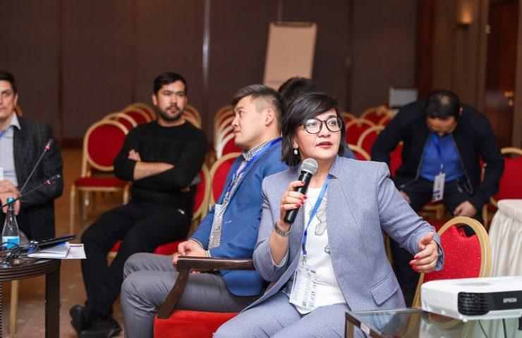 Медиаэксперт из Узбекистана Лола Исламова