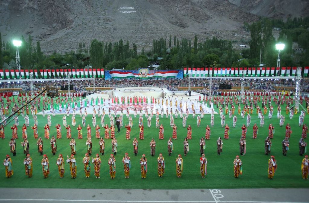 Celebration of National Unity Day in Khorog on August 27, 2016. Photo: prezident.tj