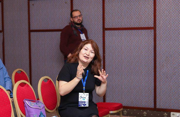 Участница из Казахстана, эксперт