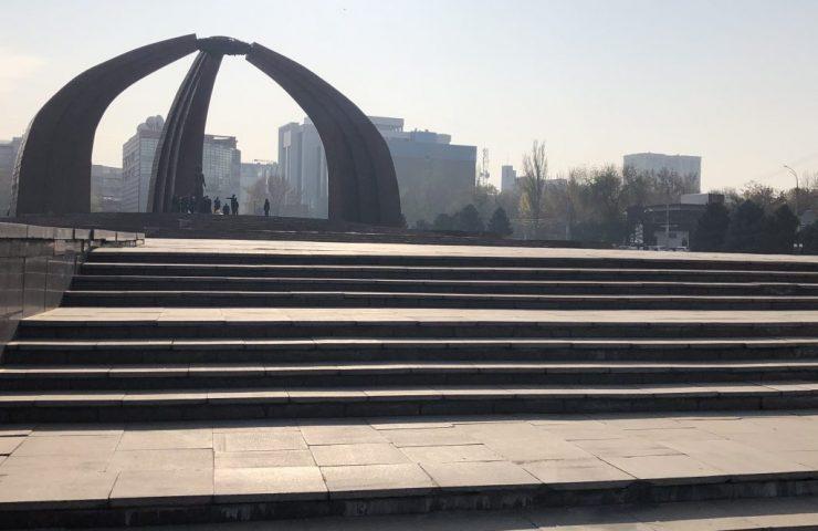 отсутствие пандусов на площади Победы