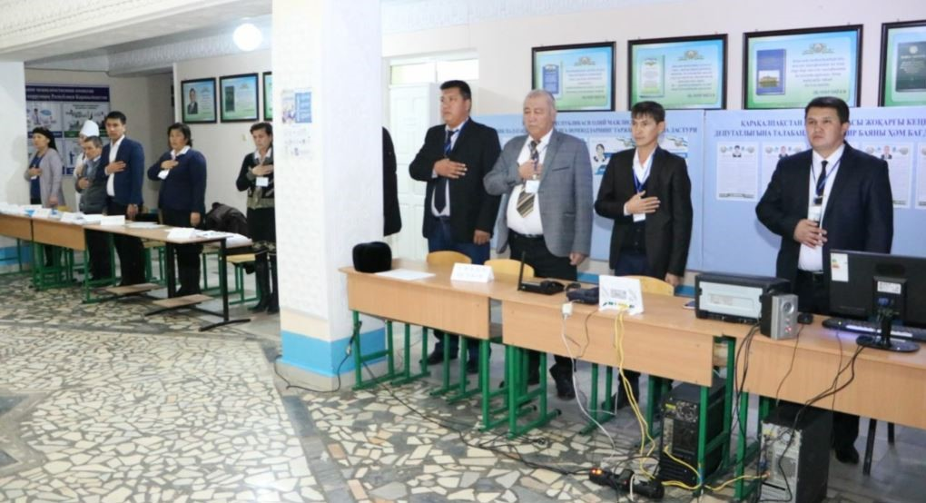 Parliamentary elections day in Uzbekistan. Photo: currenttime.tv