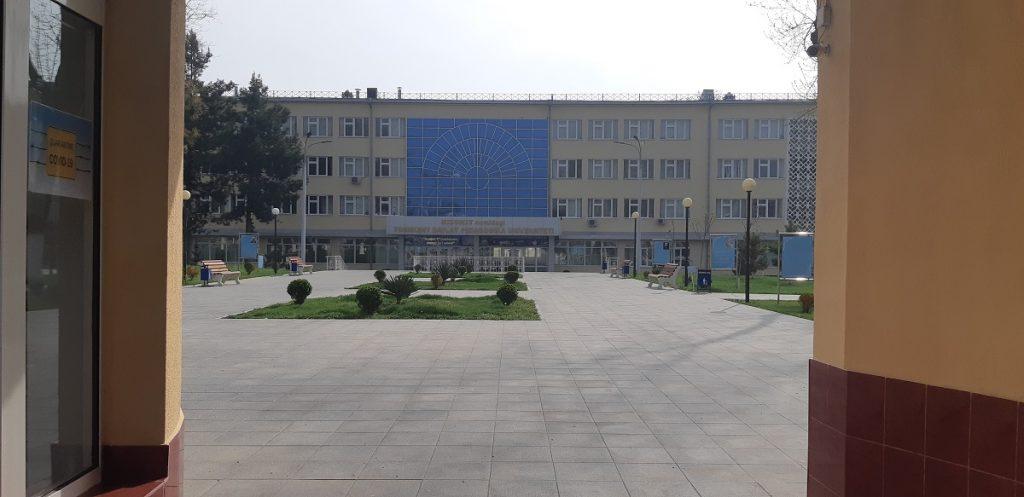 Педагогический институт имени Низоми. Фото: CABAR.asia