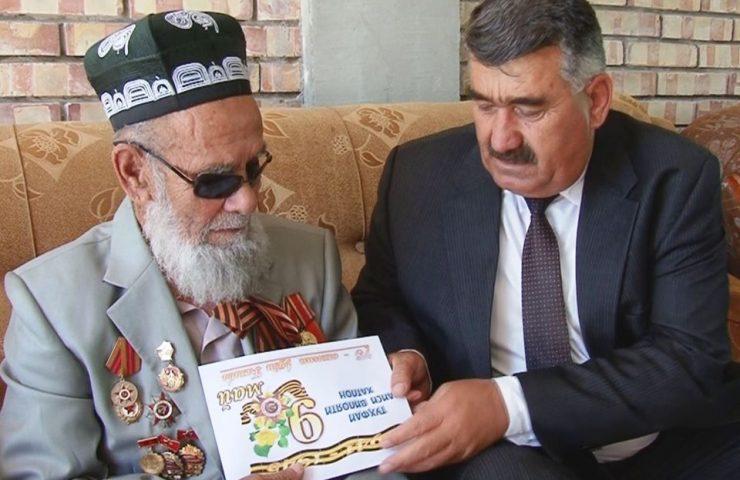 Ветераны ВОВ из Таджикистана