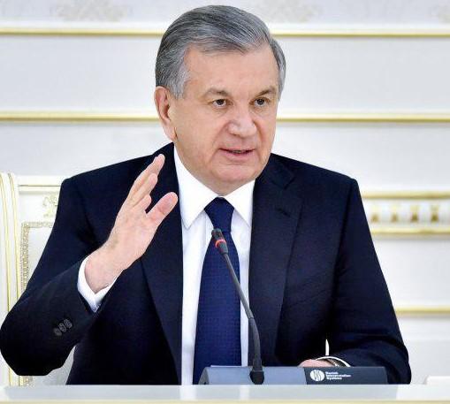 President Shavkat Mirziyoyev. Photo: president.uz