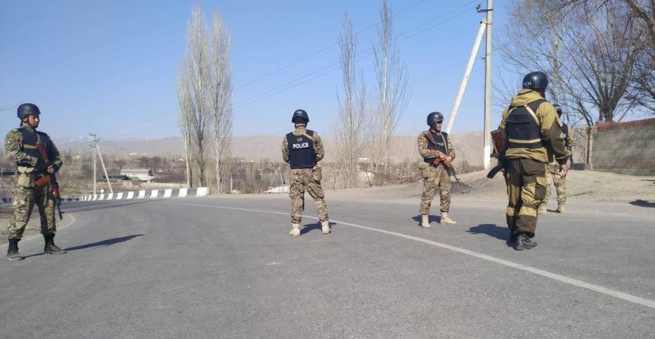 Kyrgyz-Tajik border. Photo: azattyk.org