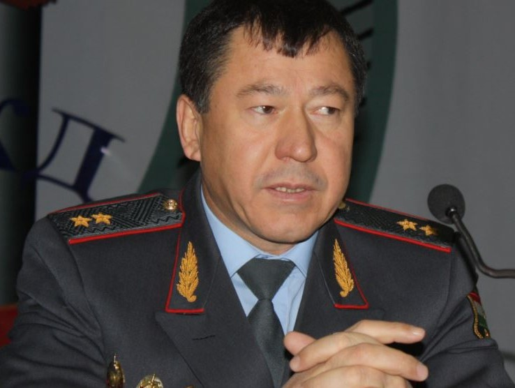 The Head of the Ministry of Internal Affairs Ramazon Rahimzoda. Photo: ozodi.org