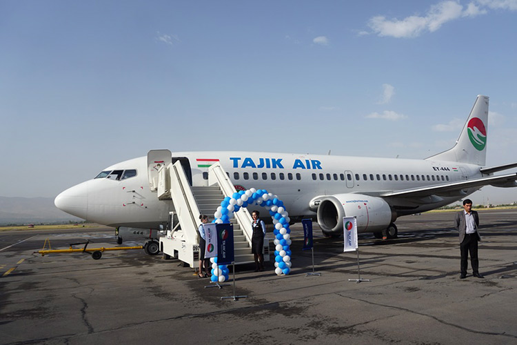State Air Company Tajikair is in second place in terms of wage arrears. Photo: Asia-Plus