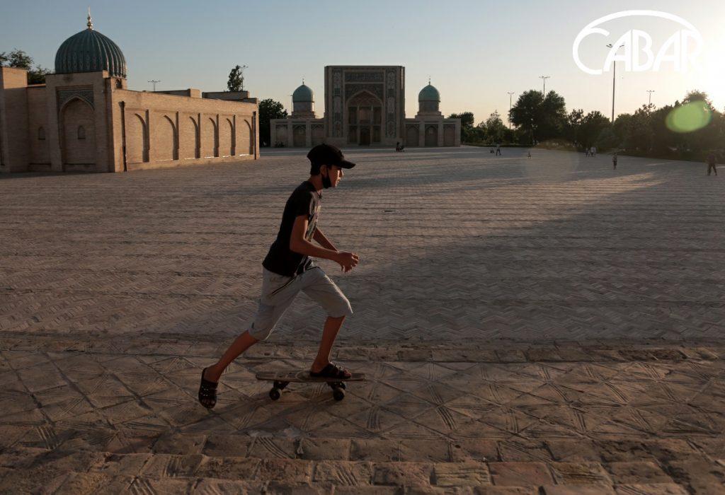 Hazrati Imam Square in Tashkent. Photo: CABAR.asia