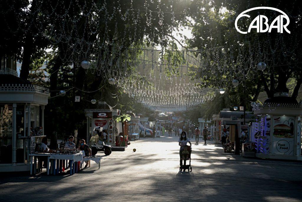 Tashkent 'Broadway'. Boulevard. Photo: CABAR.asia
