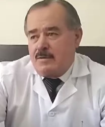 "Sulaimon Davlatov, Deputy Director of the ""Shifobakhsh"" National Medical Centre. Photo from the Internet"
