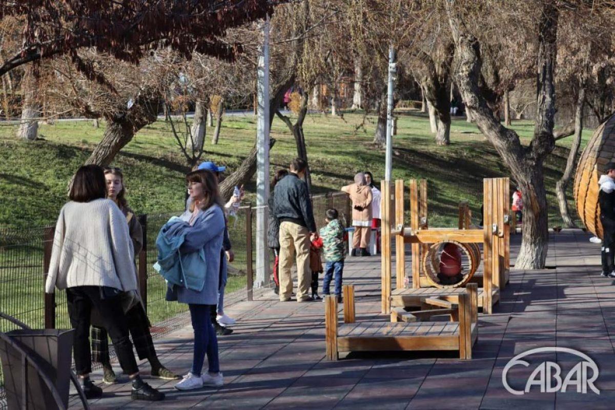 Экопарк – детская площадка