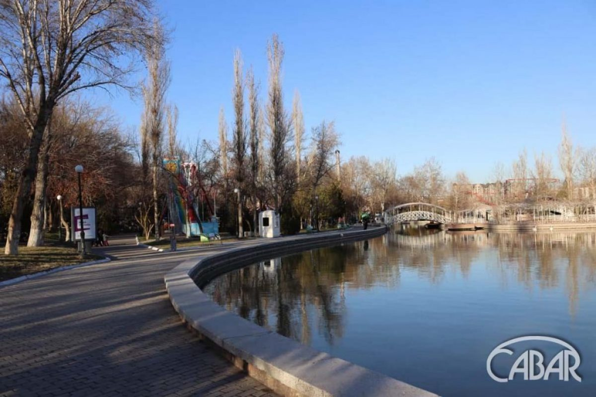 Централ парк. Озеро
