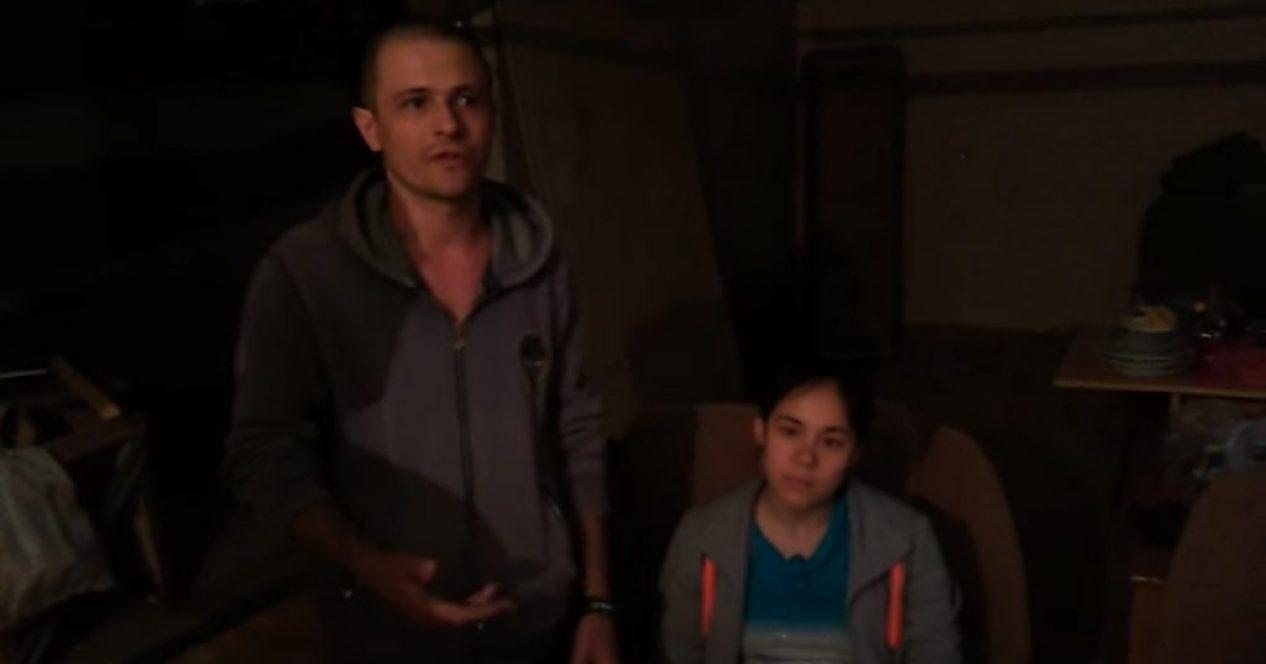 Алексей с семьей живет в подвале